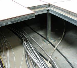Wiring Under Raised Floor